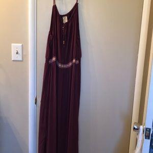 Summer dress xl plum